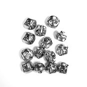 15 PC SILVER BELLS - 2.5 CM (24 PACKS) PF-3500