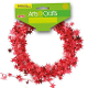 25 FT WIRE STAR GARLAND - RED (24 PACKS) PF-2843