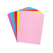 "12 PC 6"" X 8"" EVA SHEETS - ASST. COLORS (24 PACKS) PF-3825"
