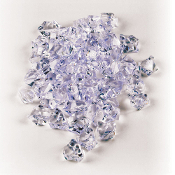 3.5 OZ GEM STONES - CLEAR (24 PACKS) PF-4093