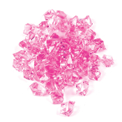 3.5 OZ GEM STONES - PINK (24 PACKS) PF-4095