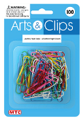 100 PC JUMBO PAPER CLIPS - ASSORTED (24 PACKS) PF-3964