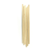 "6 PC 3/8"" X 12"" WOODEN DOWEL - NATURAL (24 PACKS) PF-3316"