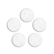 "5 PC 3"" ROUND PLASTIC CANVAS-CLEAR (24 PACKS) PF-4316"