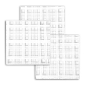 "3 PC 6"" SQUARE PLASTIC CANVAS-CLEAR (24 PACKS) PF-4317"