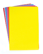 "6 PC 8"" X 12"" EVA SHEETS - ASST. COLORS (24 PACKS) PF-3826"