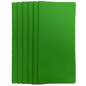 "6PC 12""X12"" NON WOVEN SHEETS-GREEN (24 PACKS) PF-4549"
