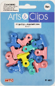 12 PCS 2.2 CM HINGE CLIPS - ASSORTED (24 PACKS) PF-4603