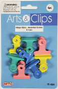 8 PCS 3.1 CM HINGE CLIPS - ASSORTED (24 PACKS) PF-4604