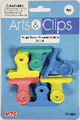 6 PCS 3.8 CM HINGE CLIPS - ASSORTED (24 PACKS) PF-4605