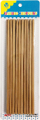 10 PAIRS WOOD CHOPSTICKS (24 PACKS) PF-4697