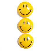 3PC 5CM SMILING FACE MAGNETS (24 PACKS) PF-5155