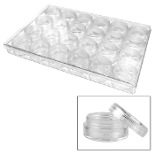 "12""X6.5""X2"" PLASTIC COLLECTION SET (24 PACKS) 38025"