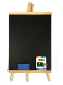 "10""X20"" BLACK BOARD WITH STAND (12 PCS) 38065"