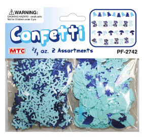 2/3 OZ. CONFETTI - BABY BOY (24 PACKS) PF-2742
